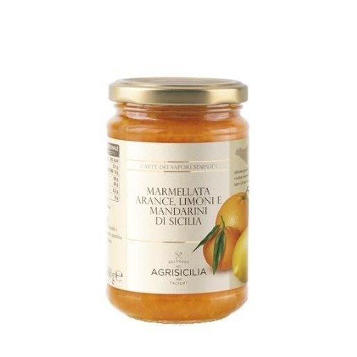 Agrisicilia -  Dżem z owoców cytrusowych 360 g