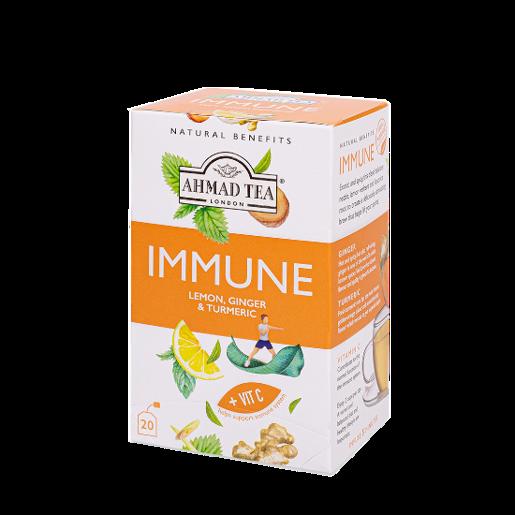 Ahmad Immune Lemon Ginger & Turmeric 20 saszetek