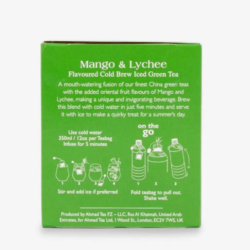 Ahmad Mango & Lychee Iced Green Tea 20 saszetek