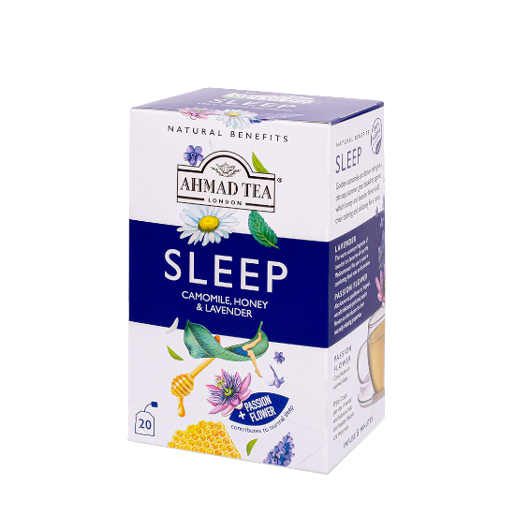 Ahmad Sleep Camomile Honey & Lavender 20 saszetek