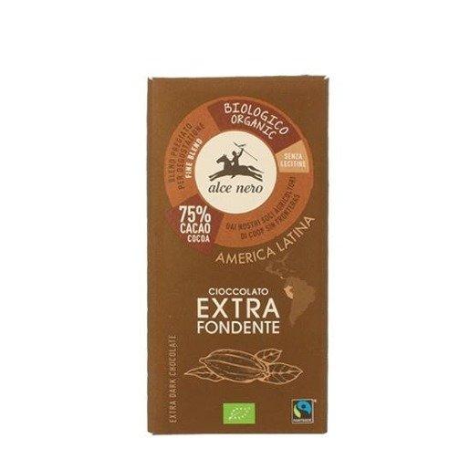 Alce Nero Cioccolato extra fondente gorzka 100g