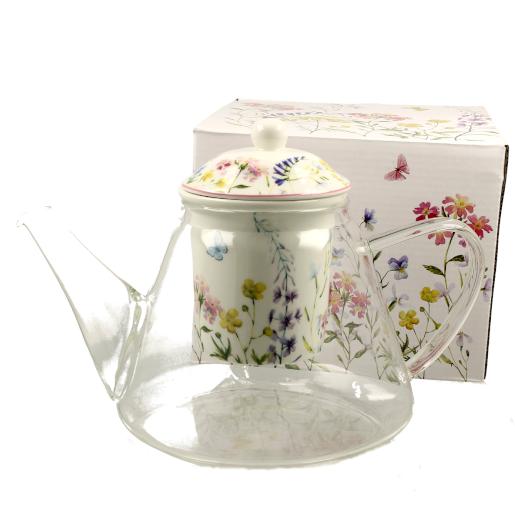 Alice Dzbanek szklany z zaparzaczem 1200 ml
