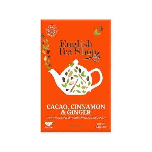 Cacao, Cinnamon & Ginger - 20 saszetek