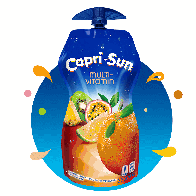 Capri-Sun sok multiwitamina w tubce 330 ml