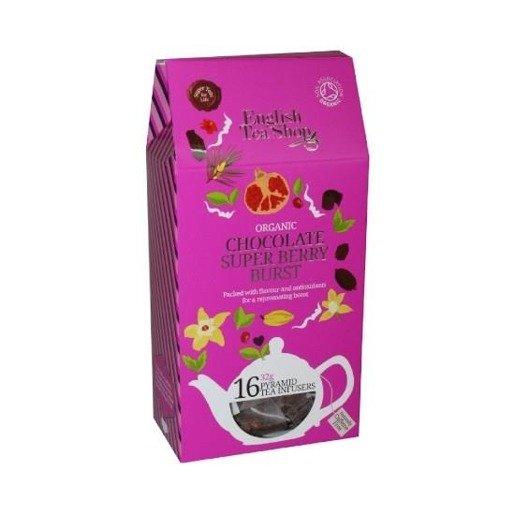 Chocolate Super Berry Burst - 16 piramidek