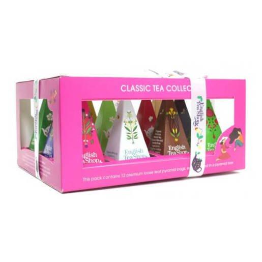 Classic Tea Collection - 12 Piramidek z herbatą