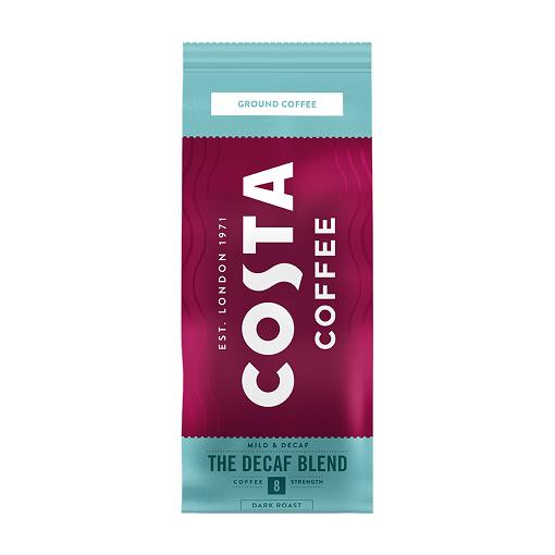Costa Coffee The Decaf Blend 200 g - kawa mielona bezkofeinowa