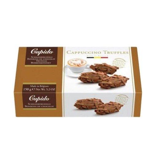 Cupido Cappuccino - Trufle z mlecznej czekolady o smaku kawy 150g
