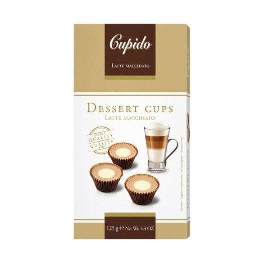 Cupido Dessert Cups - czekoladki smak Latte 125g
