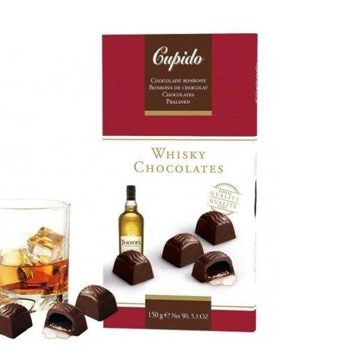 Cupido czekoladki z whisky 150g