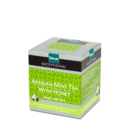 Dilmah Arabian Mint Tea with Honey - 20 piramidek z herbatą