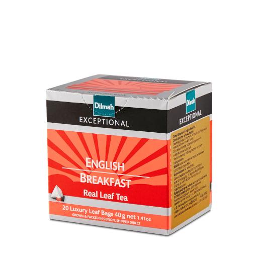 Dilmah English Breakfast - 20 piramidek z herbatą