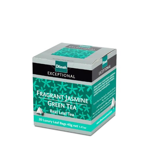 Dilmah Fragrant Jasmine Green Tea - 20 piramidek z herbatą