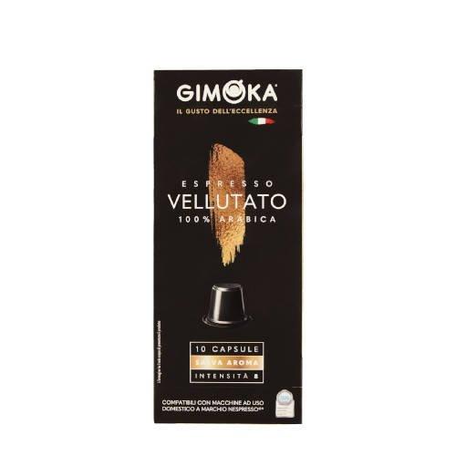 Gimoka Vellutato Arabika 10 kapsułek Nespresso