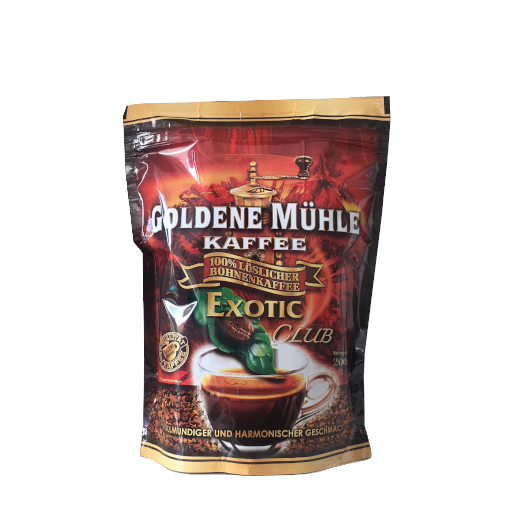 Goldene Muhle Kaffee Exotic Club 200g kawa rozpuszczalna