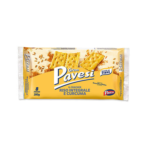 Gran Pavesi I cracker Curcuma krakersy z kurkumą 280 g