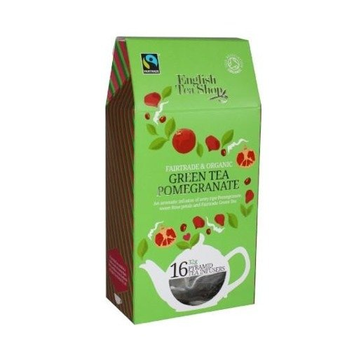 Green Tea Pomegrante - 16 piramidek