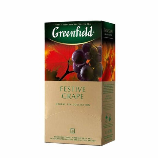 Greenfield Festive Grape - 25 torebek