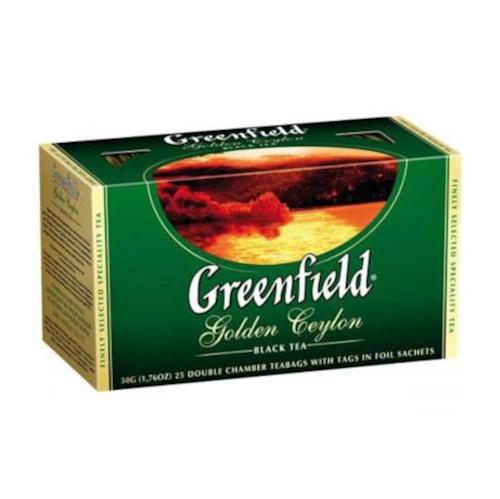 Greenfield Golden Ceylon 50g czarna herbata w saszetkach