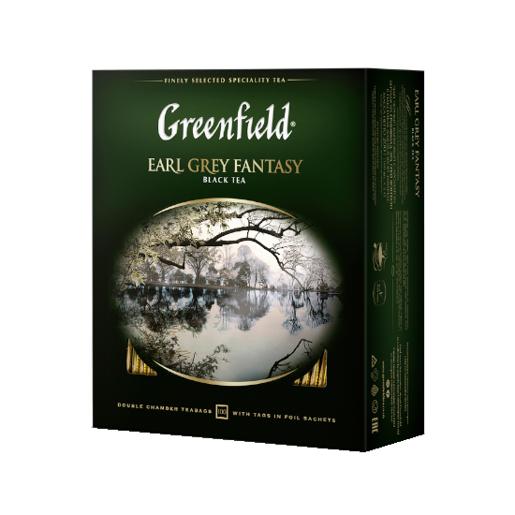 Herbata Greenfield Earl Grey Fantasy - 100 kopert