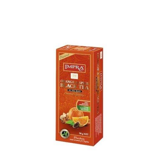Impra - Orange & Spice Black Tea 25x2g herbata ekspresowa