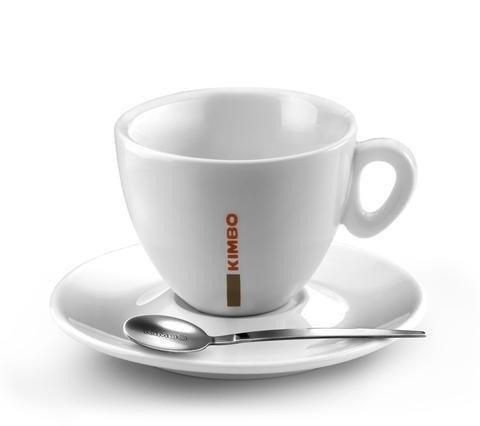 Kimbo Cappuccino 166 ml filiżanka do kawy + spodek
