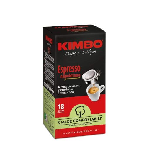 Kimbo Espresso Napoletano - saszetki ESE 18 szt.