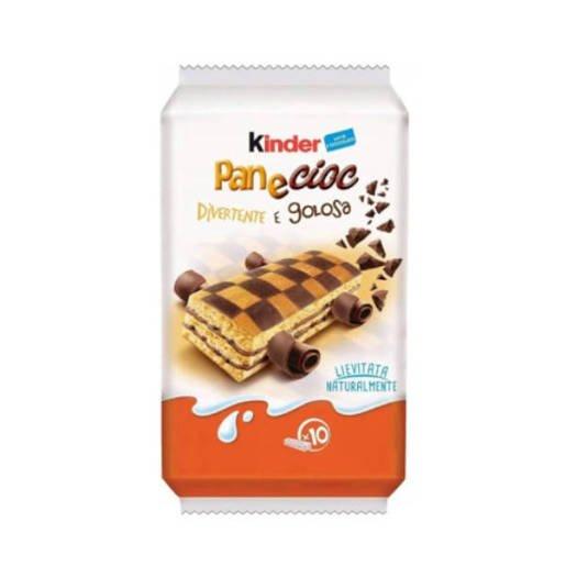 Kinder Pan e Cioc - mleczne kanapki z czekoladą 10 sztuk