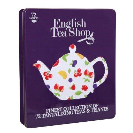 Kolekcja herbat owocowych w puszce  - 72 saszetki