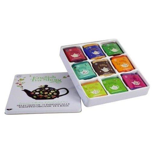 Kolekcja herbat w puszce  - 72 saszetki