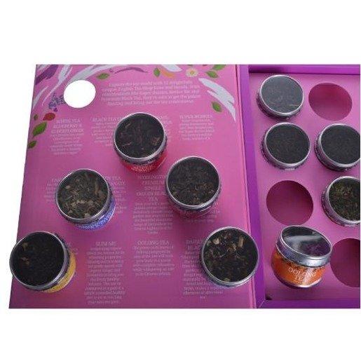 Książka Degustacyjna - zestaw 12 herbat sypanych