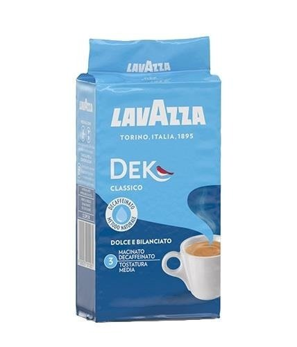 Lavazza Dek 250g kawa mielona bezkofeinowa