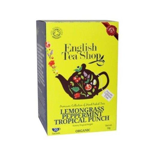 Lemongrass Peppermint Tropical Punch - 20 saszetek