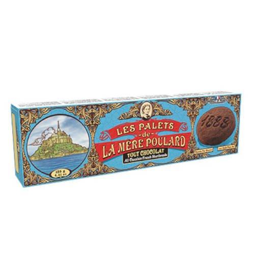 Les Palets de La Mere Poulard Tout Chocolate 125g