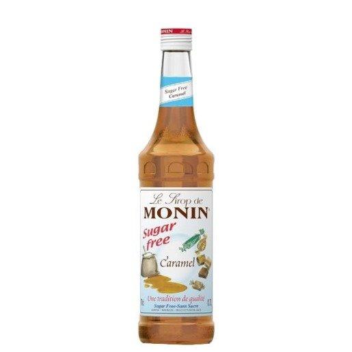 Monin Caramel Sugar Free 0,7 l - syrop karmelowy bez cukru