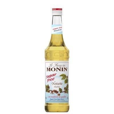 Monin Hazelnut Sugar Free 700 ml - syrop orzechowy