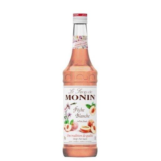 Monin White Peach Syrop 0,7l - Brzoskwinia