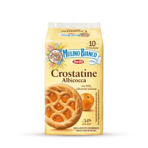 Mulino Bianco Crostatine Albicocca - włoskie tarty morelowe
