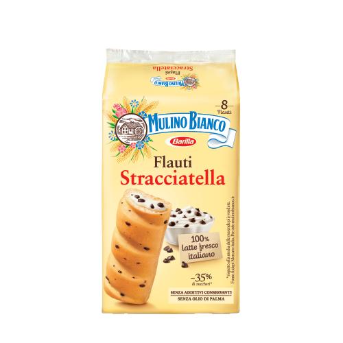 Mulino Bianco bułeczki z nadzieniem Stracciatella 280g