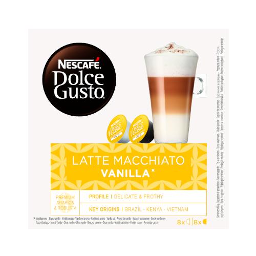 Nescafe Dolce Gusto Vanilla Latte Macchiato 16 kapsułek