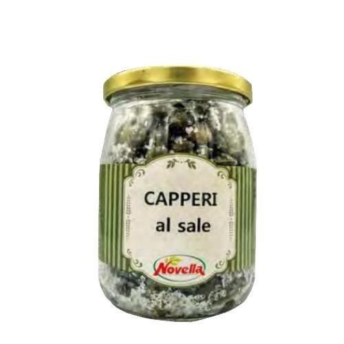 Novella Capperi Al Sale - 580 ml kapary w soli