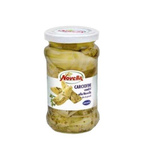 Novella Carciofi Conditi - 314 ml karczochy z przyprawami