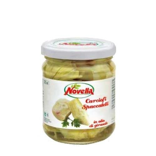 Novella Carciofi Spaccatelli - 314 ml karczochy