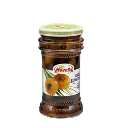 Novella Cipolle Borettane Aceto Balsm - 314 ml cebulki w occie balsamicznym