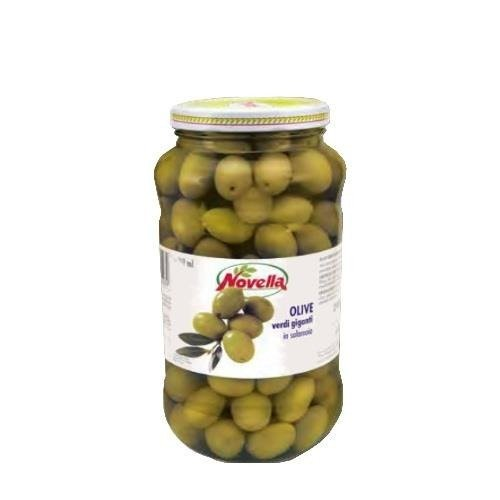 Novella Olive Verdi Giganti -  314 ml oliwki całe zielone