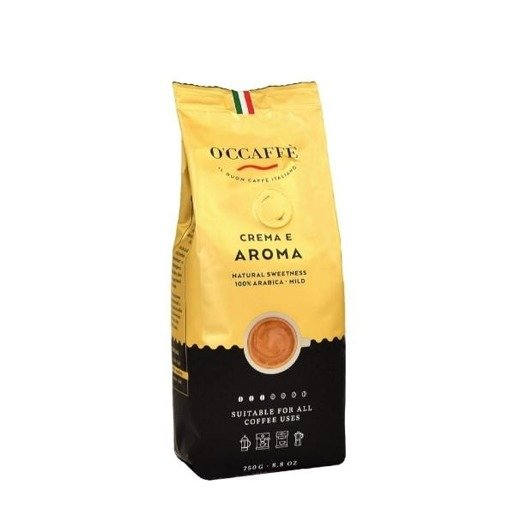Occaffe Crema E Aroma Arabica 250g kawa ziarnista