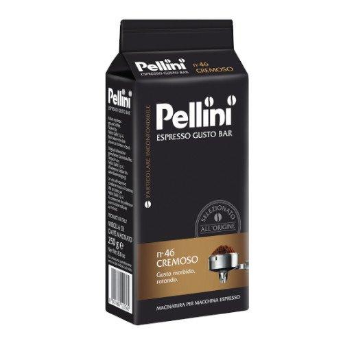 Pellini n'46 Cremoso 250g kawa mielona x 10