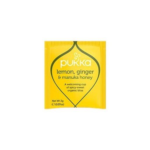 Pukka Lemon, Ginger Manuka Honey BIO - 20 saszetek