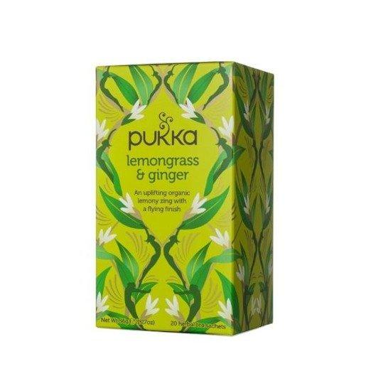 Pukka Lemongrass & Ginger BIO - 20 saszetek