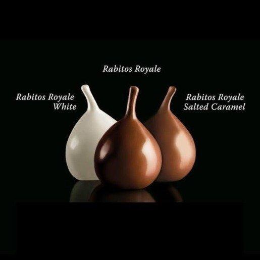 Rabitos Royale Figi w czekoladzie - słony karmel 95g
